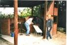 Erster gebauter Steinbackofen 1996 mit Grillecke.jpg